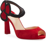 Christian Louboutin Pansy 85 Red Sole Sandals