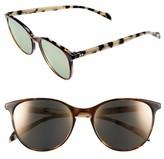 Salt Women's Kiani 53Mm Polarized Retro Sunglasses - Chestnut Bisque/ Rose Mirror