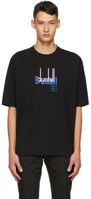 Dunhill Black New York Archive Logo T-Shirt