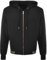 Versace Full Zip Hoodie Black