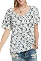 Maison Scotch AllO ver Printed Tee