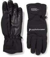 Peak Performance Chute Leather-panelled Hipe Core+ Ski Gloves