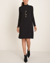 Chico's Chicos Mock-Neck Sweater Dress