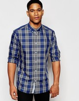 Solid !Solid !SOLID Check Shirt In Regular Fit