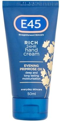E45 Rich 24Hr Hand Cream 50Ml