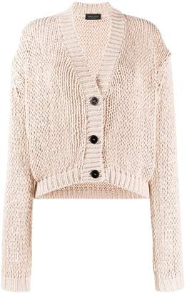 Roberto Collina chunky-knit buttoned cardigan