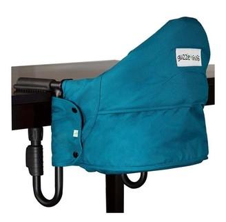 Guzzie+guss Perch Counter Clip-On Chair, Aqua