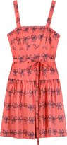 Marc By Marc Jacobs Raspberry Cream Bow Dress