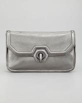 Rachel Zoe Eve Clutch Shoulder Bag, Pewter