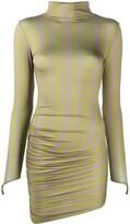Thumbnail for your product : MAISIE WILEN Asymmetric Hem Geometric-Print Dress