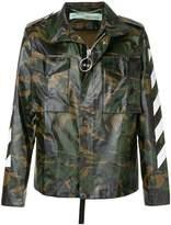 Off-White military arrows print jacket