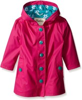 Hatley Little Girls Fuchsia Daisies Splash Jacket