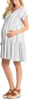 Everly Grey Micaela Maternity/Nursing Dress