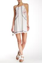 Blu Pepper Embroidered Sleeveless Dress