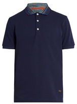 Missoni Contrast-collar Cotton Polo Shirt