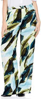 Vince Camuto Breezy Leaves Wide Leg Pants