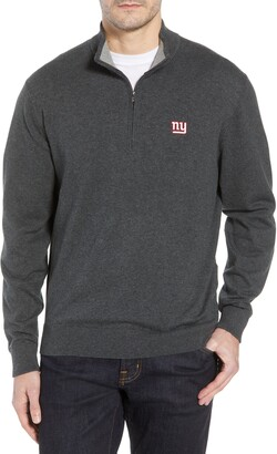 Cutter & Buck New York Giants - Lakemont Regular Fit Quarter Zip Sweater