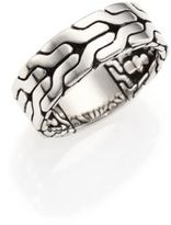 John Hardy Classic Chain Sterling SIlver Band Ring