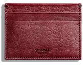 Shinola Five-Pocket Leather Card Case