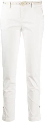 Liu Jo Belted Slim-Fit Trousers