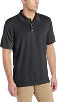 Cubavera Men's Essential Textured Performance Polo Shirt