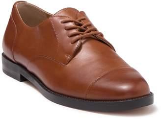 Ralph Lauren Maryna Cap Toe Leather Derby