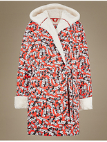 M&S Collection Pure Cotton Minnie MouseTM Dressing Gown