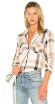 L'Agence Jacqueline Shirt in Tan. - size S (also in XS)