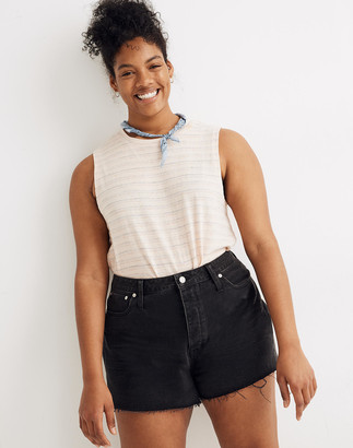 Madewell The Dadjean Short in Lunar Wash