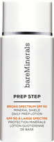 bareMinerals Prep Step Broad Spectrum SPF 50 Mineral Shield Daily Prep Lotion