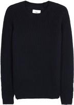 Folk Navy Chunky-knit Cotton Blend Jumper