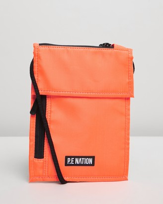 P.E Nation Qualifier Logo Pouch