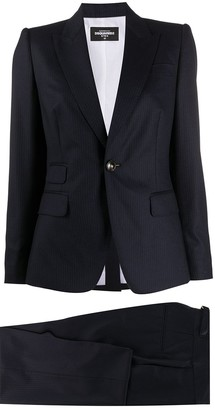 DSQUARED2 Pinstripe Single-Breasted Suit