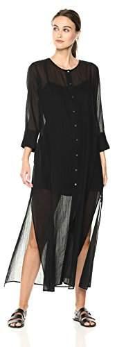 17eaa891be3c Theory Maxi Dress Black - ShopStyle
