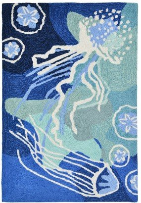 Liora Manné Capri Jelly Fish Indoor/Outdoor Rug