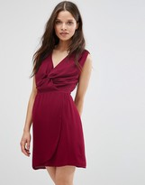 Wal G Dress With Knot Front