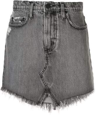 Nobody Denim Edge denim skirt