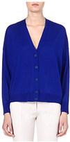 Stella McCartney V-neck wool and silk-blend cardigan