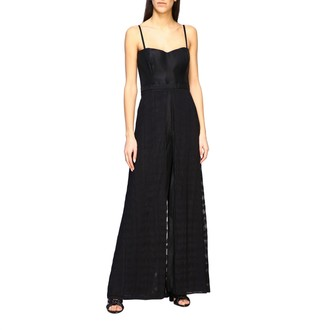 Missoni Jumpsuit With Suspenders And Wide Trousers