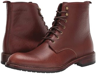 Trask Lance (Saddle Tan American Bison) Men's Lace-up Boots