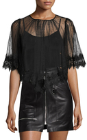 Alice McCall Love Game Mesh Lace Top