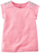 Carter's Girls 4-8 Neon Tassel Tank Top