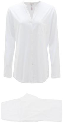 Hanro Cotton Pyjamas - White