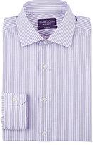 Ralph Lauren Purple Label Men's Bengal-Striped Cotton Dress Shirt