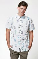 Globe Shroom Short Sleeve Button Up Shirt