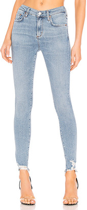 A Gold E Agolde AGOLDE Sophie High Rise Skinny
