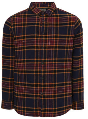 George Plum Check Long Sleeve Shirt