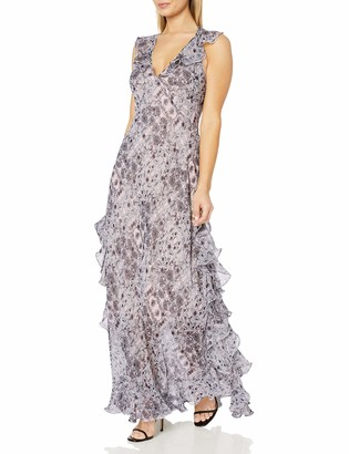 Max Studio Women's Sleeveless Printed Maxi Dress