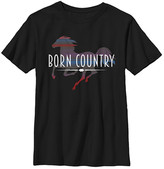 Fifth Sun Boys' Tee Shirts BLACK - Black 'Born Country' Tee - Boys