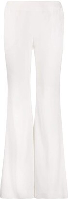 Balmain High Waist Flared Trousers